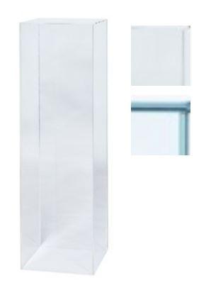 Sokkel glas   plexiglas