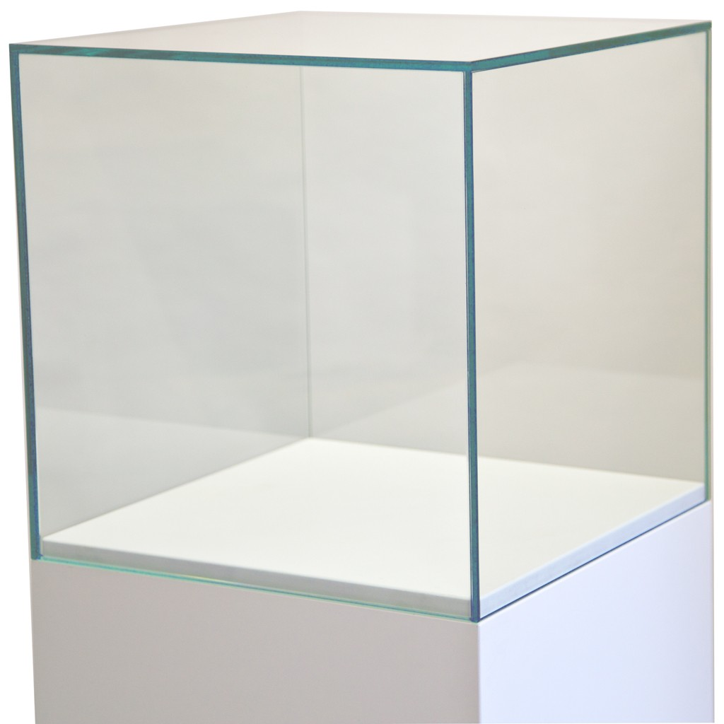 Glazen vitrinekap