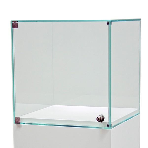 Glazen vitrinekap met deur